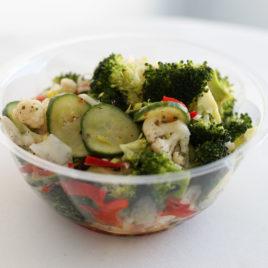 Brokoli-lillkapsasalat 600g