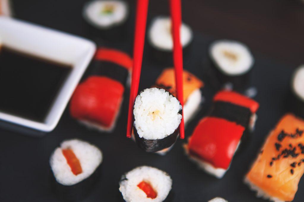 Coop Hiiumaa kaupustes müügil sushi
