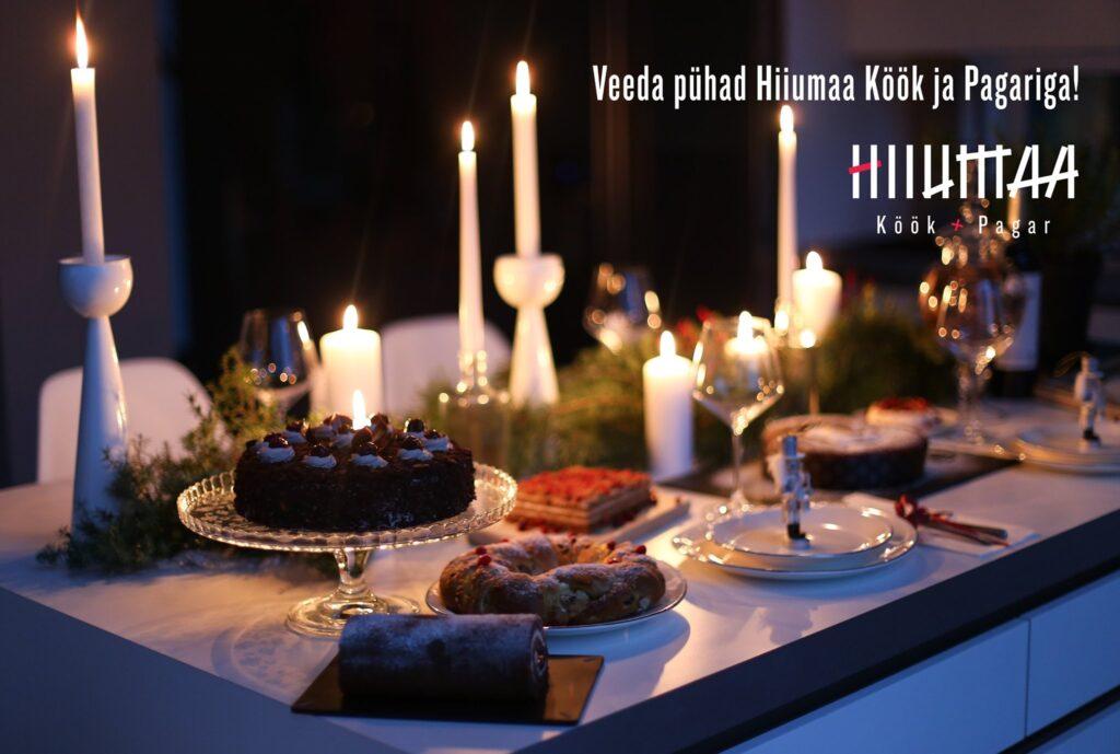 Veeda pühad Hiiumaa Köök ja Pagariga!