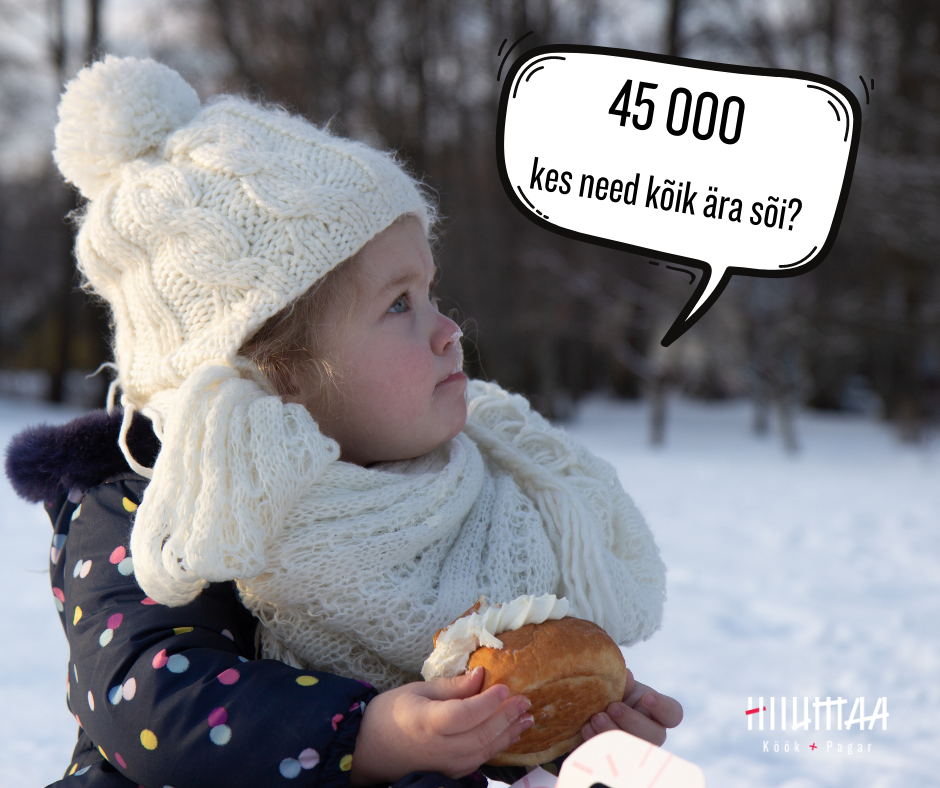 Hiiumaa Köök ja Pagar valmistas tänavu rekordilised 45 000 vastlakuklit